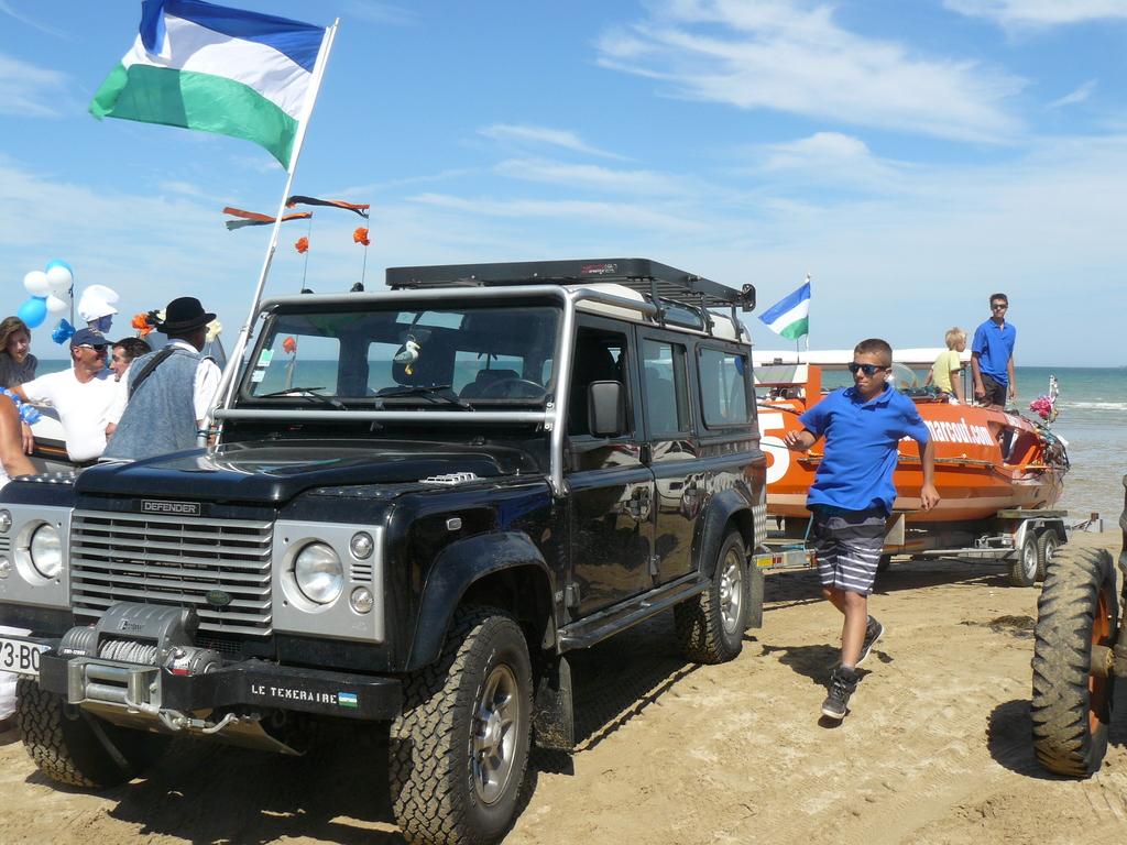 4x4 et drapeau patagon de rigueur