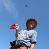 Michel Dehaye et son cerf-volant de prise de vue