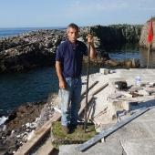 P.Berton sur digue 2012