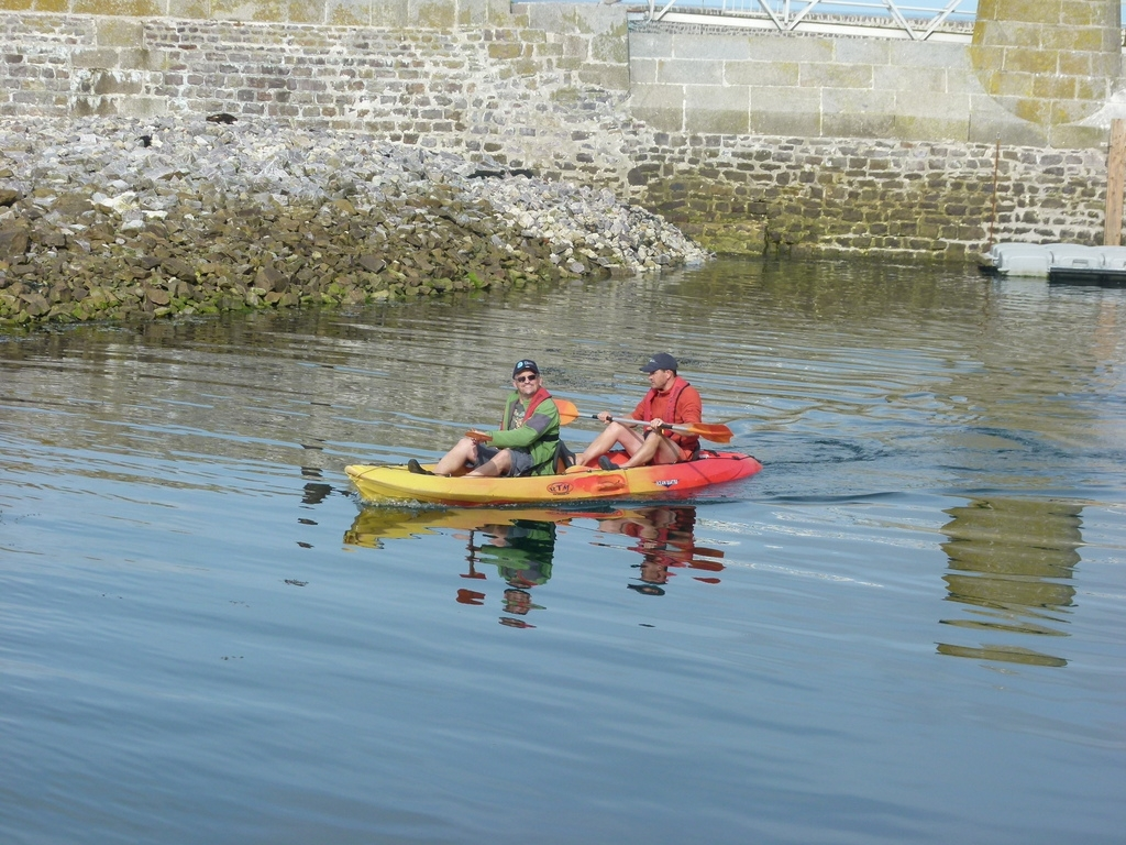 Ballade en kayak