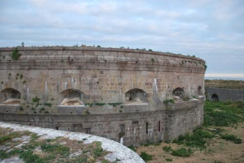 Le fort de l'île du large Saint Marcouf