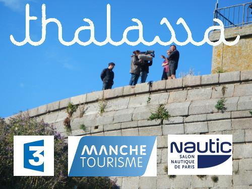 Thalassa le 12 décembre 2014 Salon Nautique le 13 décembre 2014