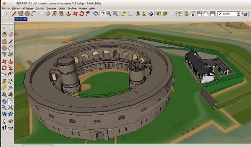 Simulation 3D Saint Marcouf