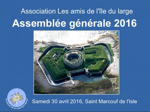 page de garde diaporama AG 2016