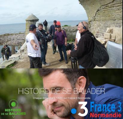 Histoire de se balader, France 3 Normandie