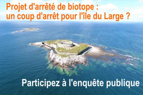 Enquete publique arrêté de biotope