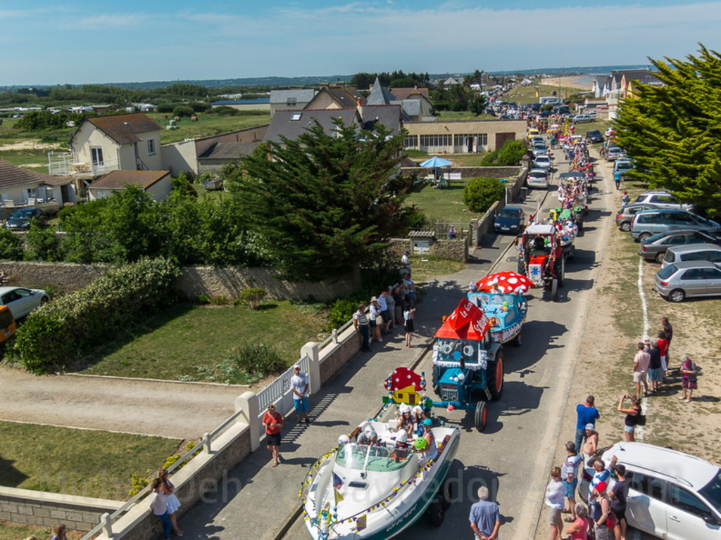 Le défilé de bateaux (photo M Dehaye)