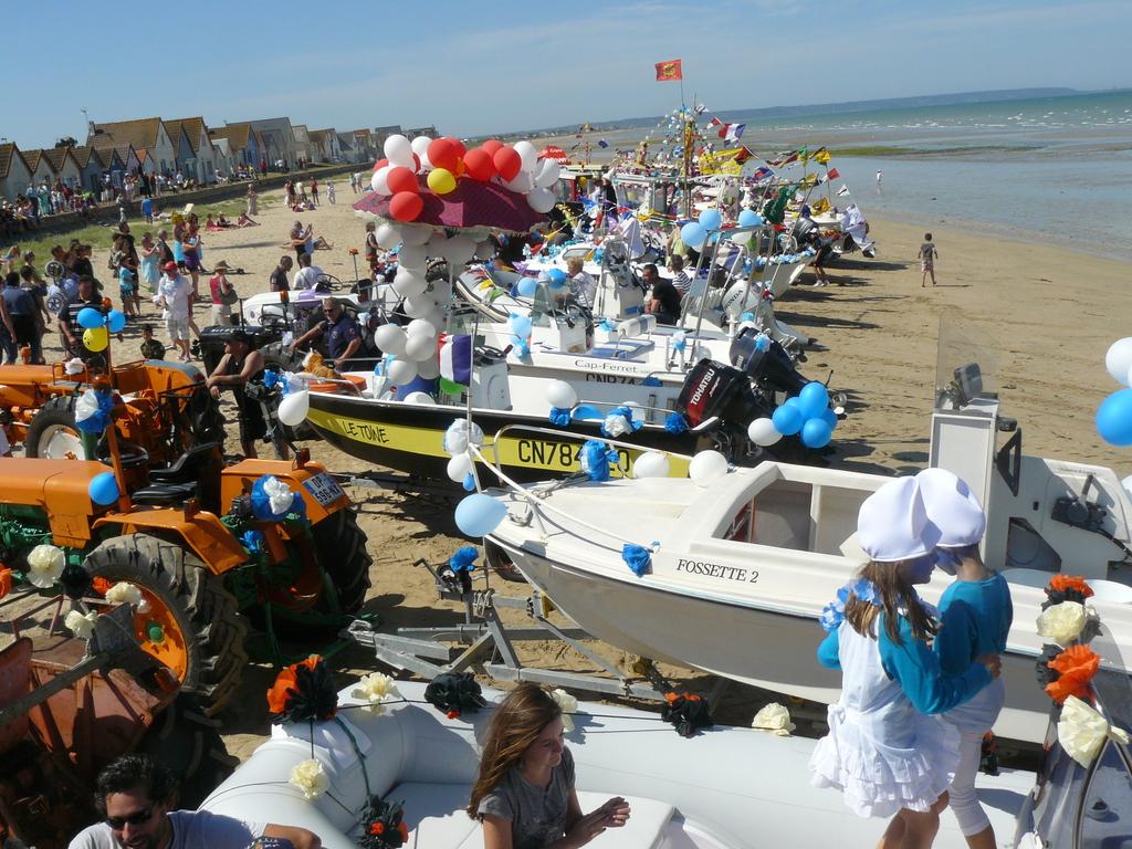 Les bateaux regroupés