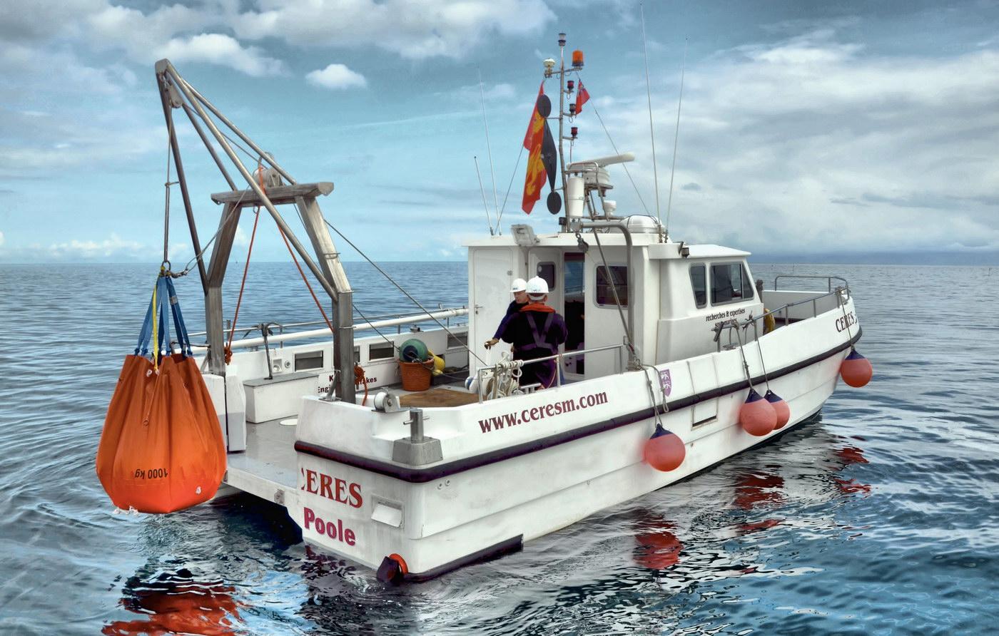 survey vessel CERES