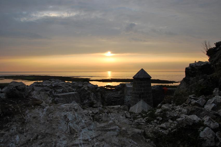 St-Marcouf-sun-set